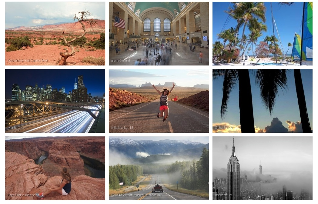 Fotowedstrijd Amerika najaar 2019