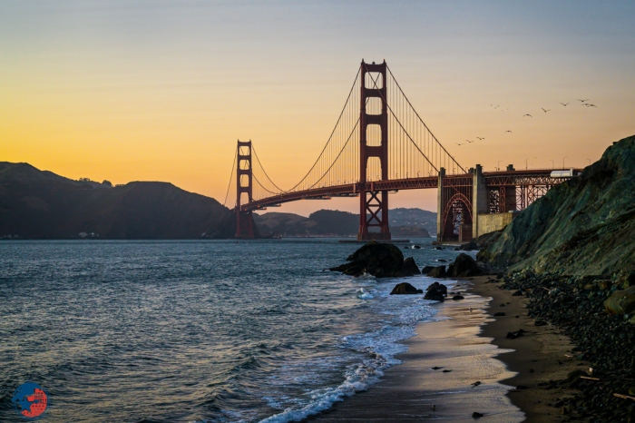 Golden gate Bridge - San Fracisco - USA4ALL