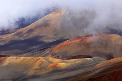Haleakala vulkaan,Hawaii