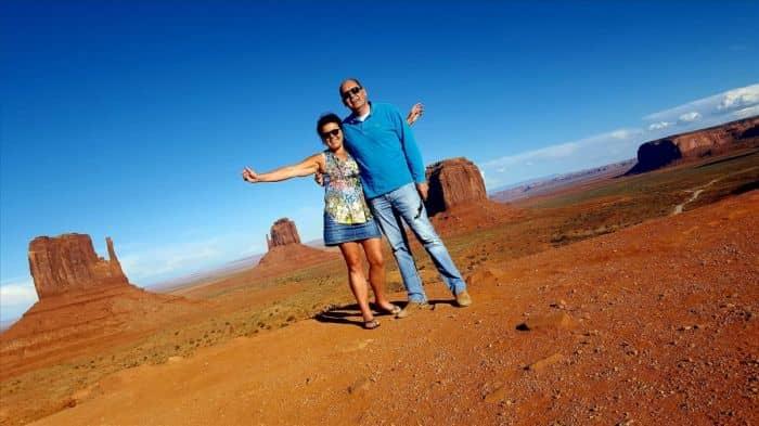 Esther en Jan, na een enkele reis besmet met het Amerika virus!