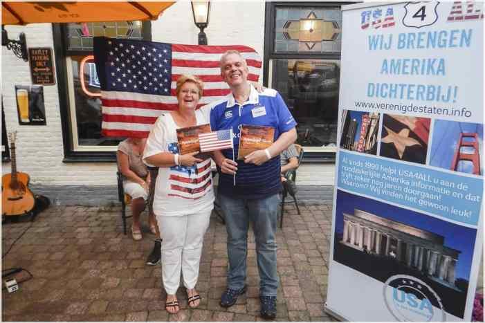 Yvonne en Peter - Winnaars van de Amerika Quiz