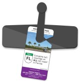 Visitor Toll Pass-Hangtag