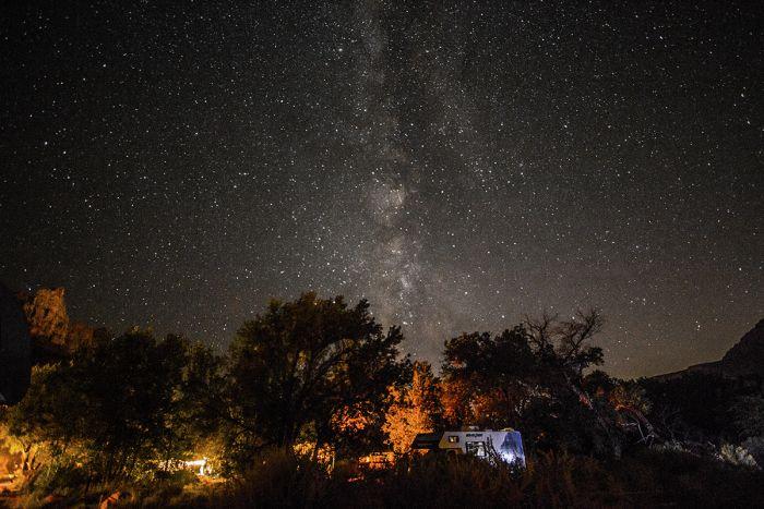 Watchman campground - Zion