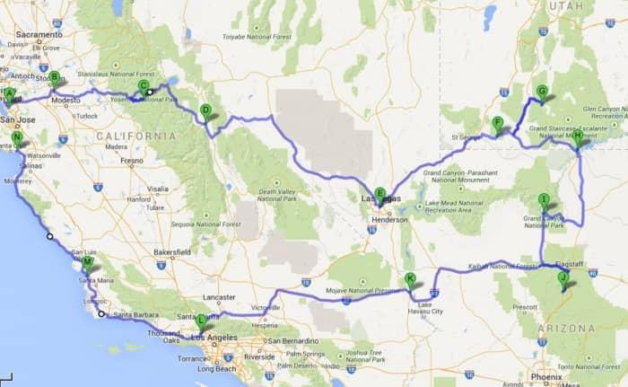 Zuid West Amerika Voorbeeldroute Stel Zelf Je Route Samen