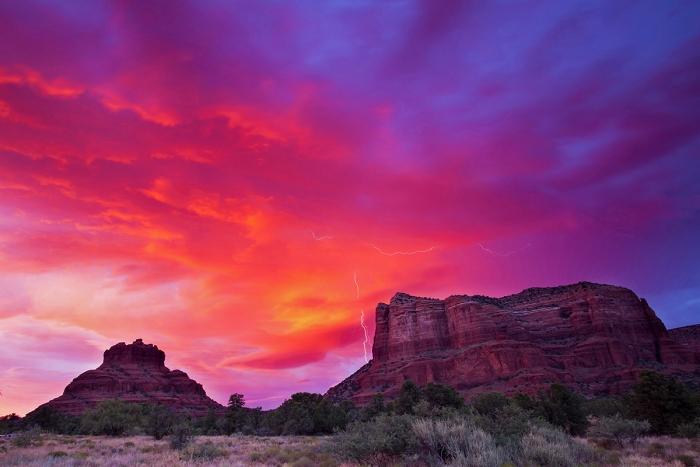 BliksemBell Rock, Sedona