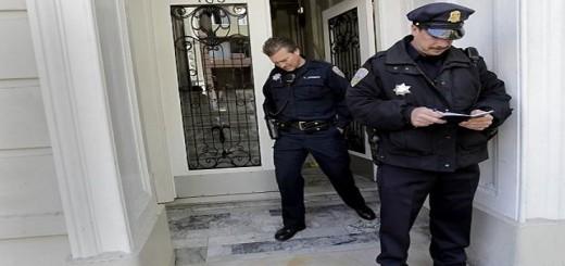 Politie aan de deur
