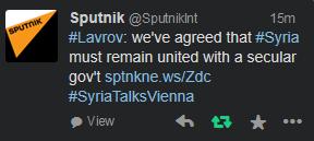 Sputnik - Lavrov