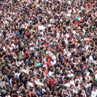 Overbevolking, filosoferen, te veel volk