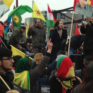 Afrin-demonstratie