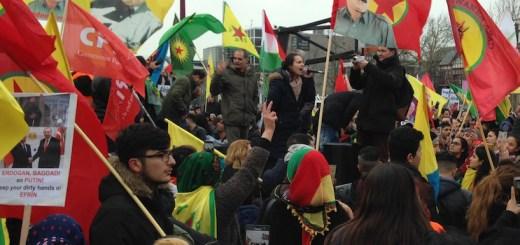 Afrin-demonstratie