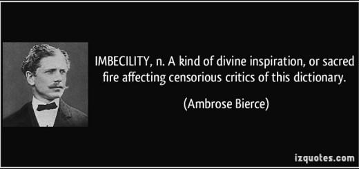 intellectueel imbecilisme