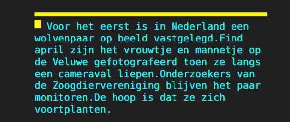 Nederland hijgt