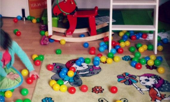 Kinderzimmer Chaos