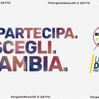 Propaganda elettorale per elezioni politiche - Movimento 5 Stelle di Vergato