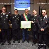 Il Comune di Monzuno premia Emanuele Manieri, ferito a Borgo Panigale nell'incidente in autostrada
