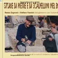 """""""Storie di pietre e scalpellini nel bolognese"""" il libro di Alfredo Marchi presentato a La Scola"""