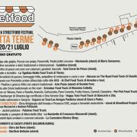 Dal 18 al 21 Luglio 2019 Porretta Terme non è solo Porretta Soul Festival ma anche STREETFOOD VILLAGE i migliori cibi di strada