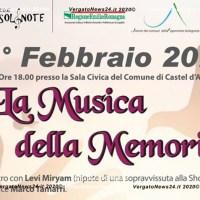 Musica della memoria - L'Associazione NonSolNote alla giornata della Memoria a Castel D'Aiano
