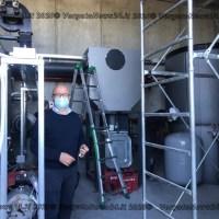 Monzuno - Dal prossimo autunno gli edifici pubblici saranno riscaldati a legna: pronta la centrale a biomassa
