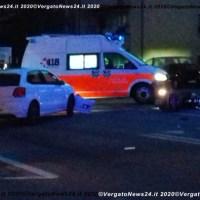 Incidente sulla SS.64 a Vergato tra moto e auto. Porrettana bloccata