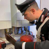 Carabinieri Camugnano - Indagine sul decesso di un tecnico delle caldaie presso le Scuole Materne
