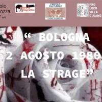"""""""Bologna 2 agosto1980: la strage"""" a Castel d'Aiano e Villa per non dimenticare, una mostra e trekking in notturna"""