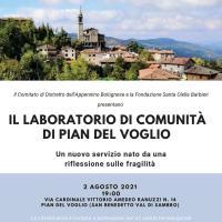 """Pian del Voglio inaugura il """"Laboratorio di comunità"""" alla presenza del Cardinale di Bologna Matteo Maria Zuppi"""