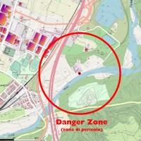 """Bomba a Sasso Marconi - La """"Danger zone"""" per la rimozione con autostrada e ferrovia bloccate"""