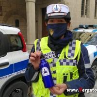 La Polizia Locale di Vergato porta in strada i bambini della Scuola Materna S.ta Clelia Barbieri