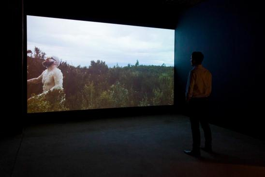 Mark Shorter, Song for Glover 2012, single channel video, Tasmanian Museum and Art Gallery