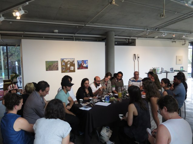 Afternoon tea and zine launch