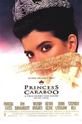 "Film Poster for ""Princess Caraboo"""