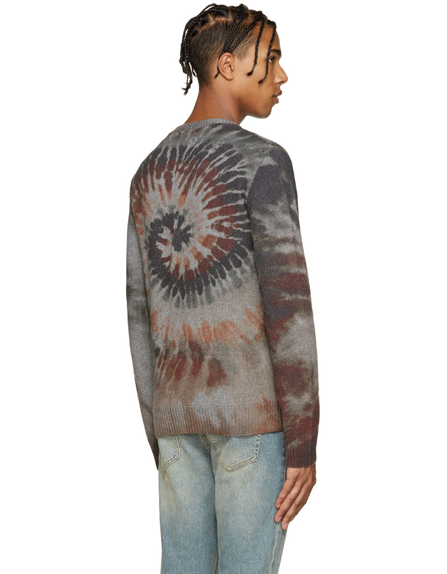 VALENTINO Multicolor Tie Dye Sweater