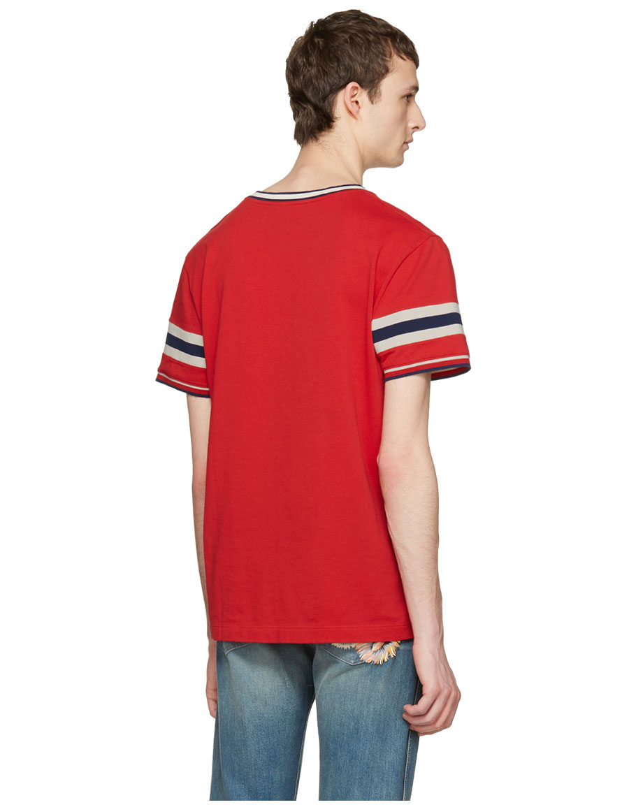 GUCCI Red Snake T Shirt