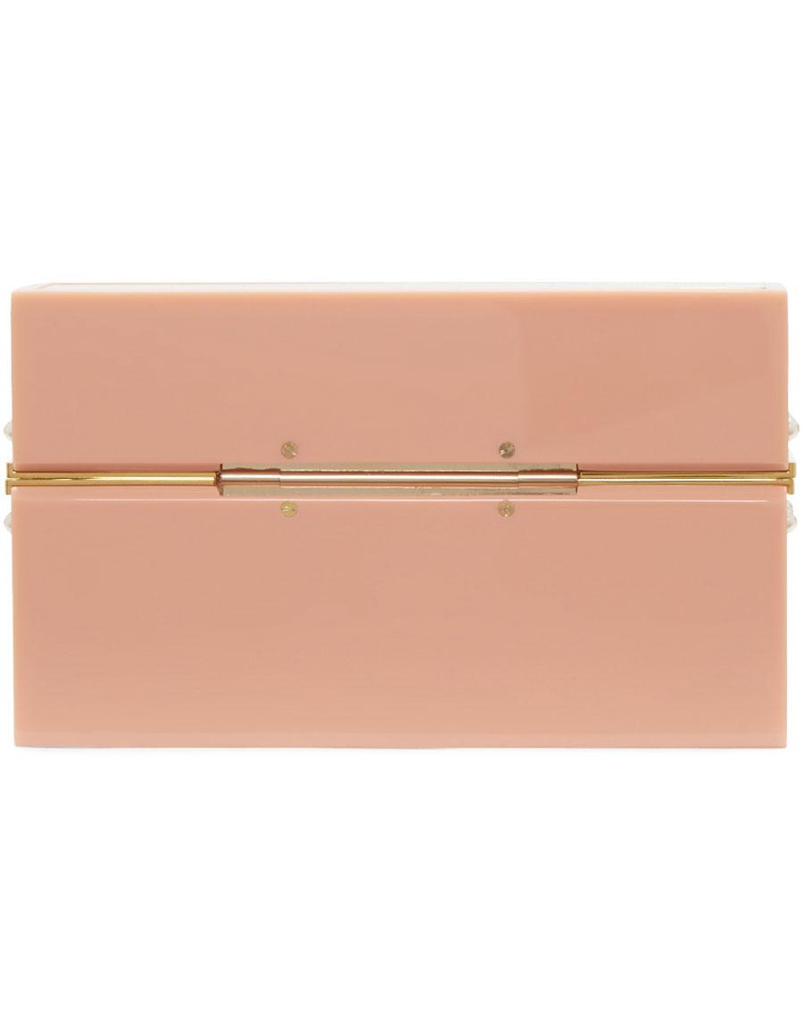 CHARLOTTE OLYMPIA Pink Barbie Edition 'Barbie World' Clutch
