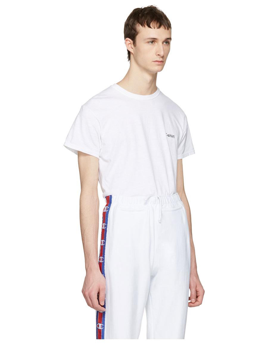 VETEMENTS White Hanes Edition Entry Level T Shirt