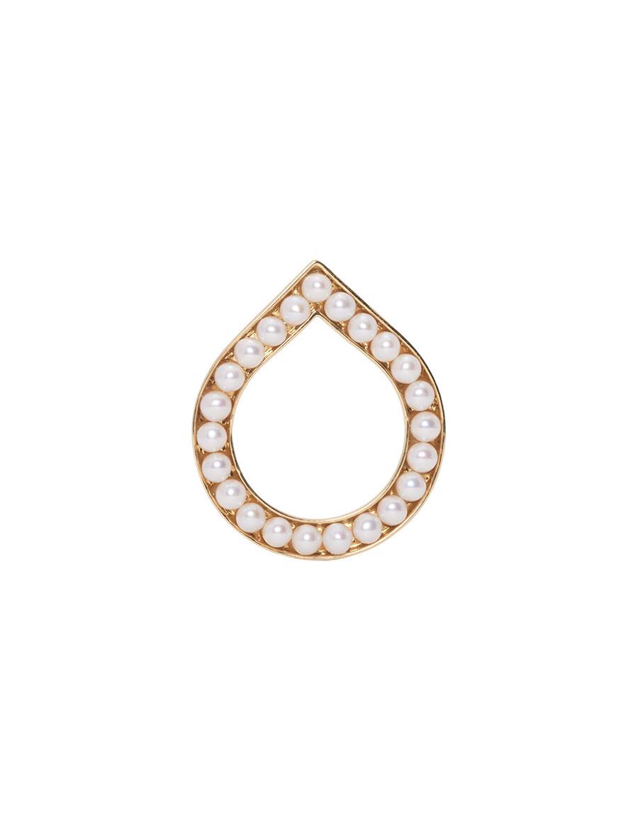 MELANIE GEORGACOPOULOS Gold Essence Drop Ring