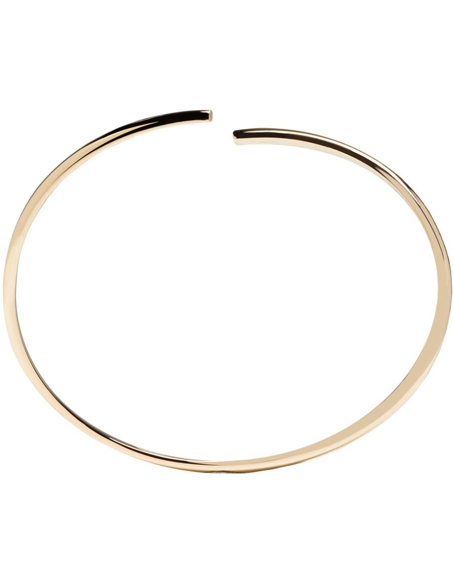 MAISON MARGIELA Gold Split Alliance Bracelet