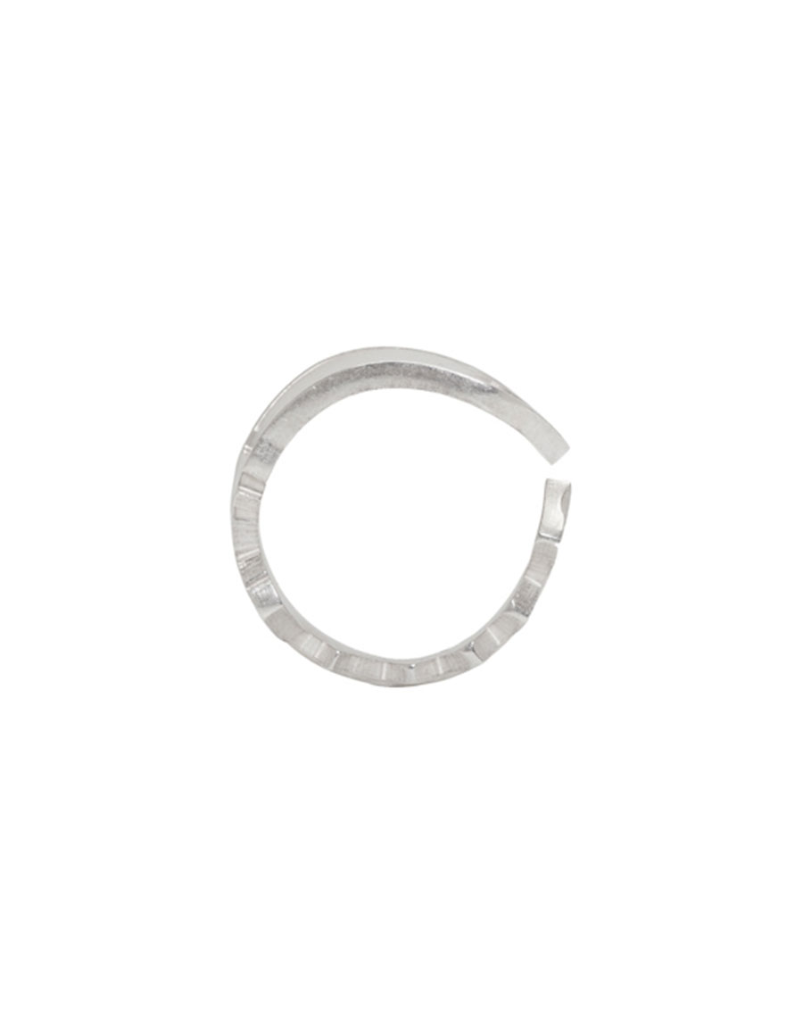 MAISON MARGIELA Silver Key Ring