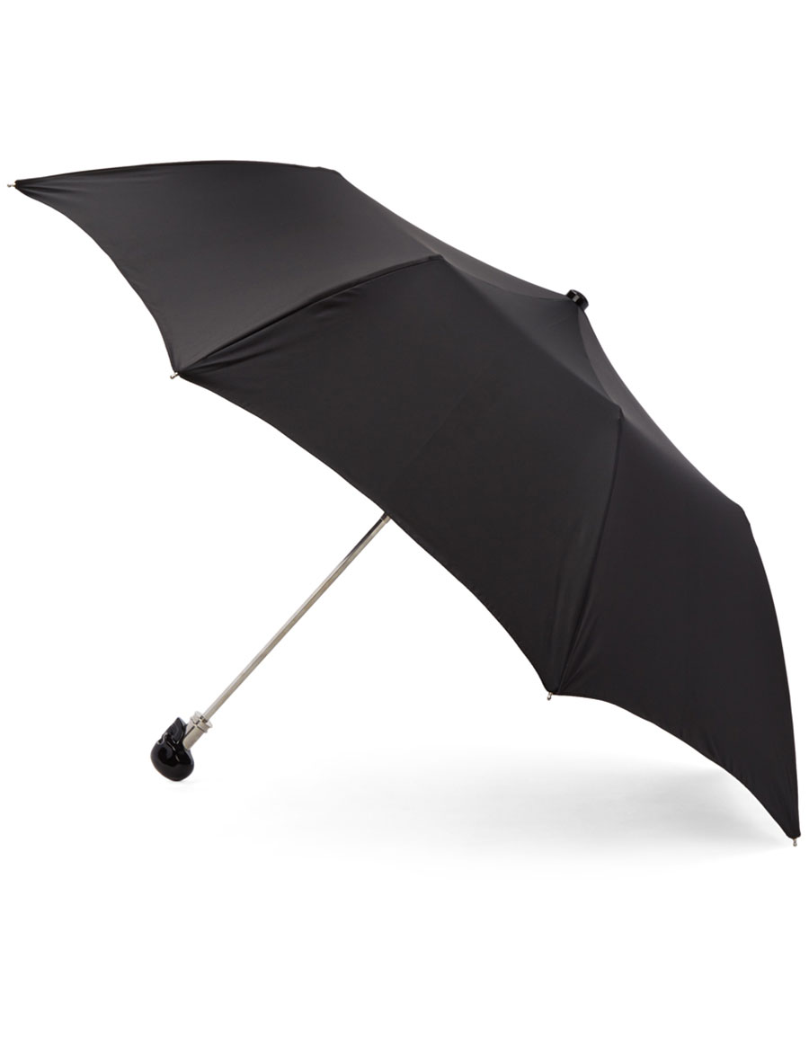 ALEXANDER MCQUEEN Black Skull Umbrella