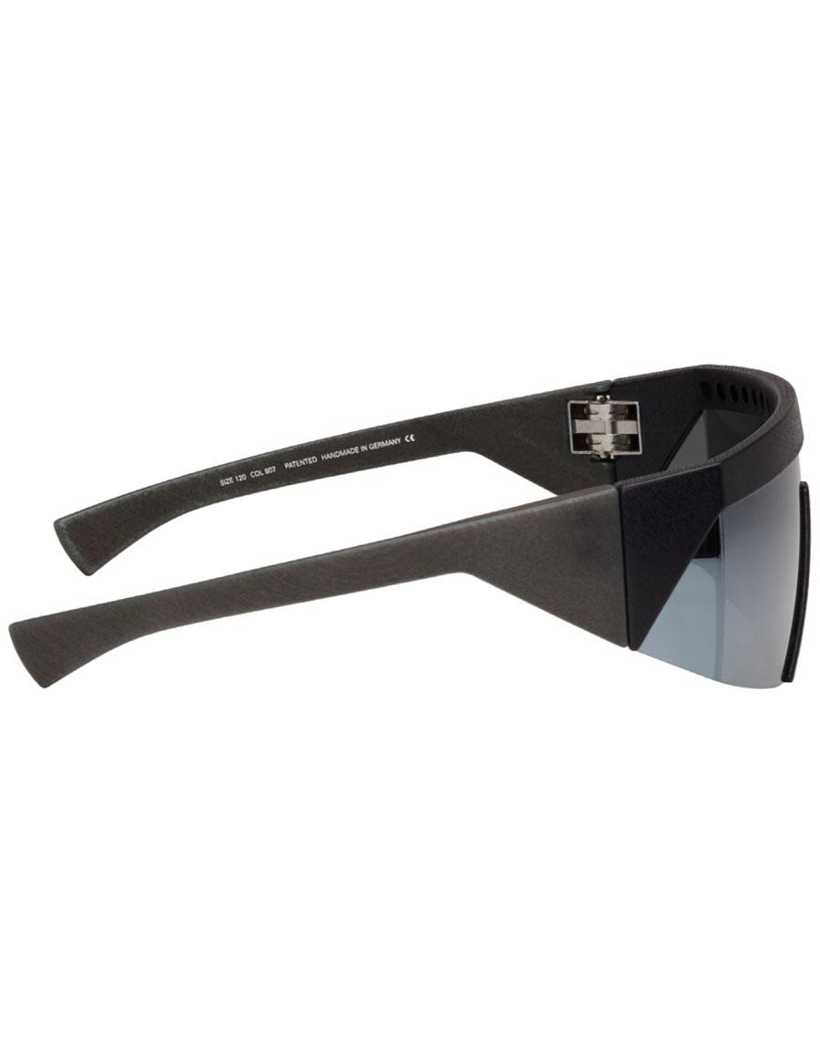 MYKITA Black Bernhard Willhelm Edition Vice Sunglasses