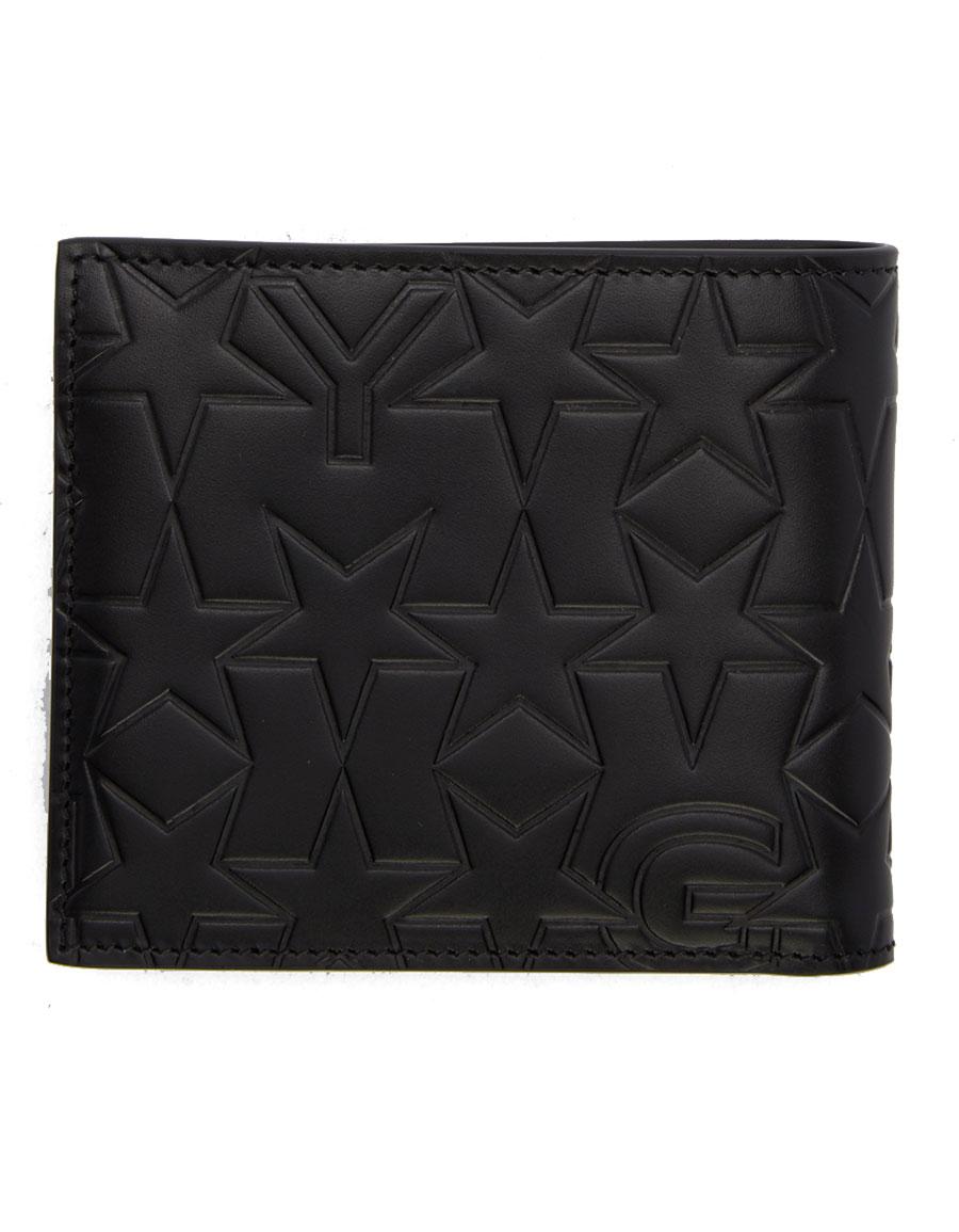 GIVENCHY Black Logo Embossed Wallet