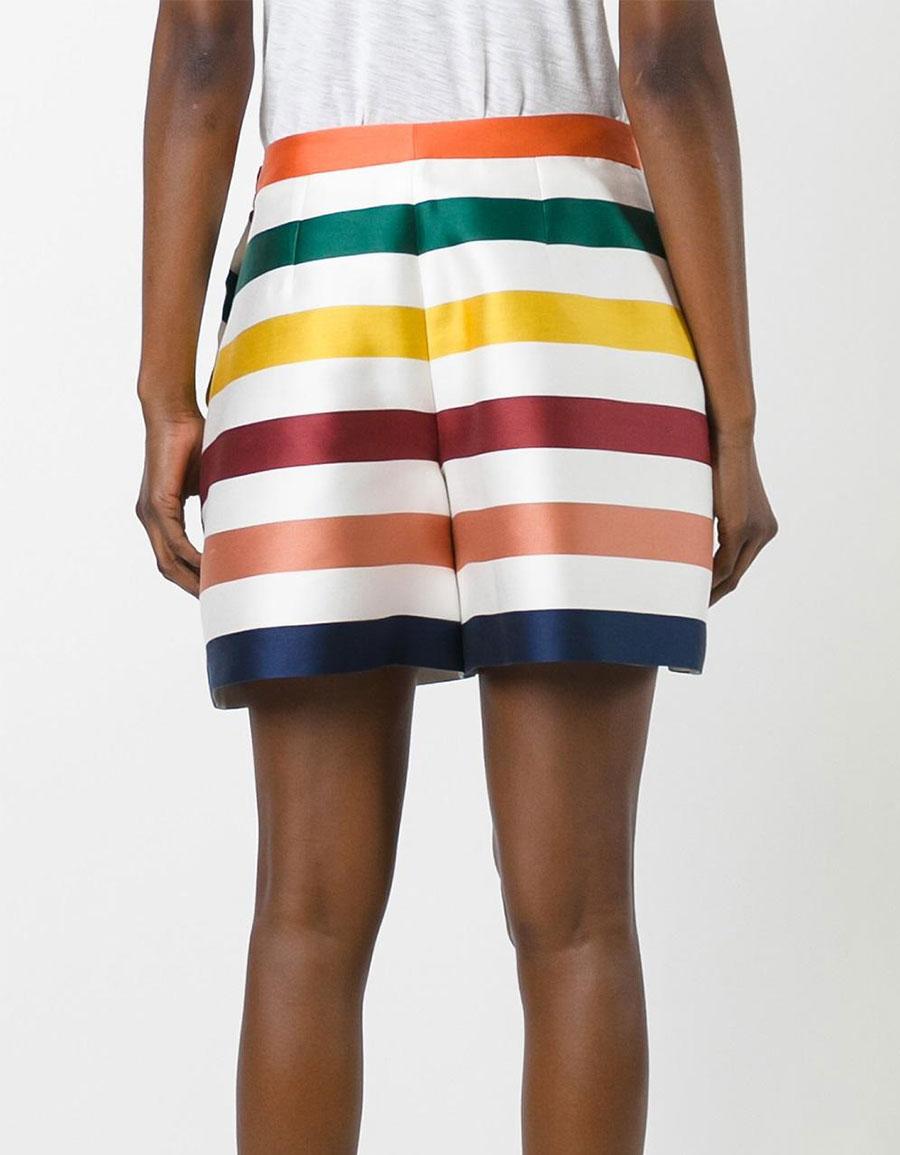 CAROLINA HERRERA Striped shorts