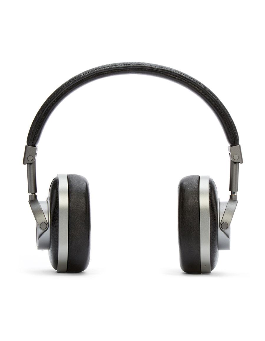 MASTER & DYNAMIC Gunmetal & Black Wireless MH60 Headphones