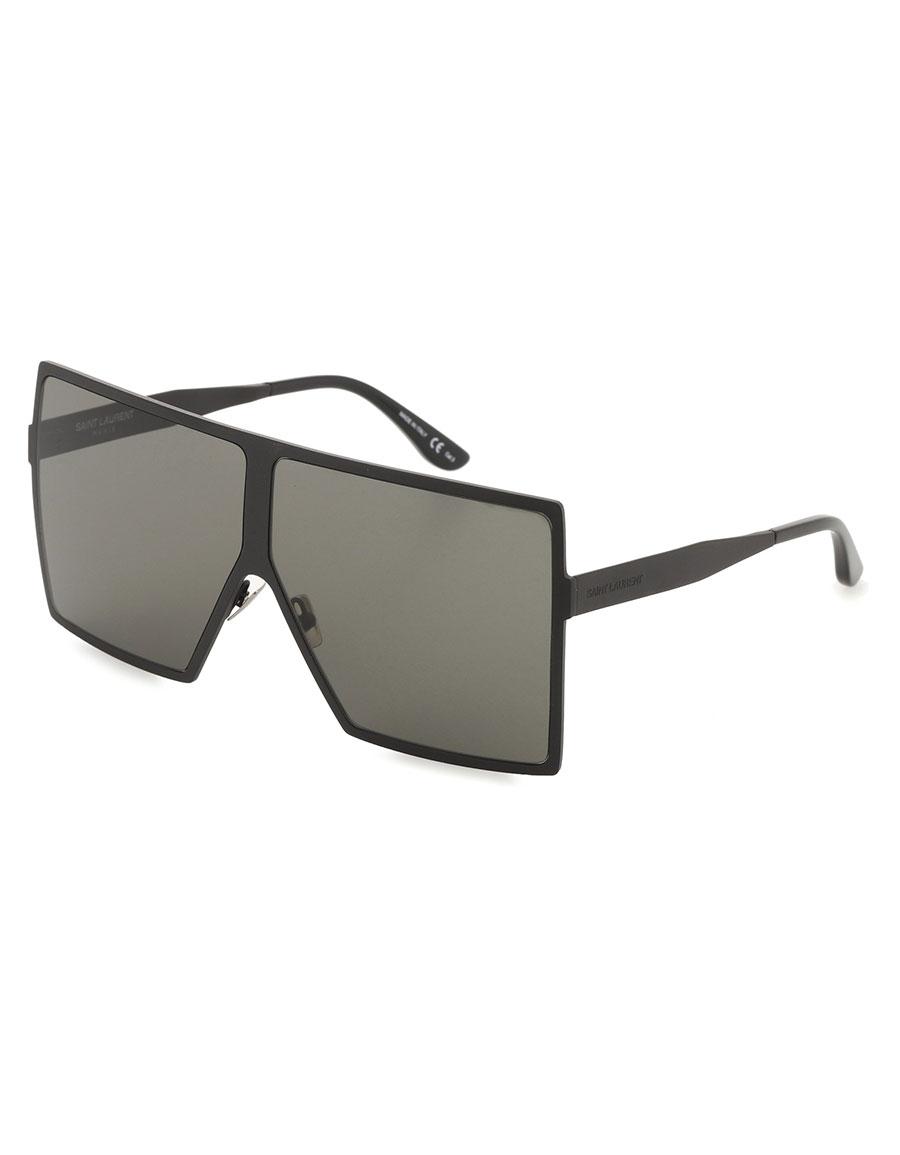 8551304986 SAINT LAURENT New Wave 182 Betty oversized sunglasses · VERGLE