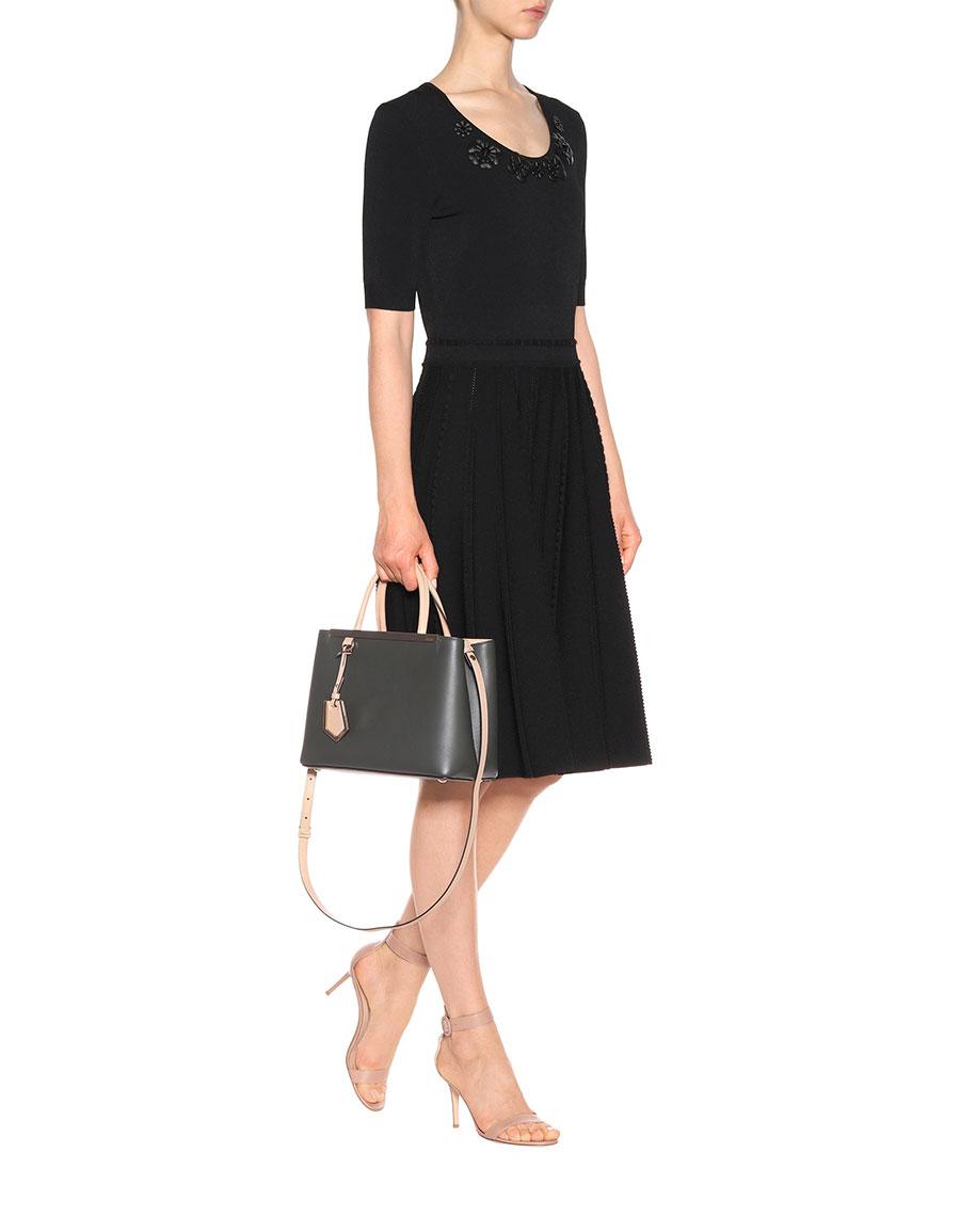 FENDI 2Jours Petite leather shoulder bag · VERGLE 87b5a7eb31dd0