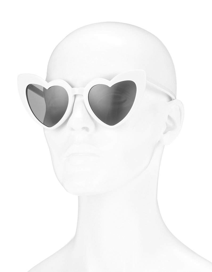 d9434a94aef SAINT LAURENT Heart-shaped sunglasses · VERGLE