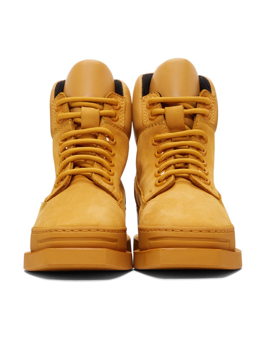 KENZO Yellow Show Nevada Boots