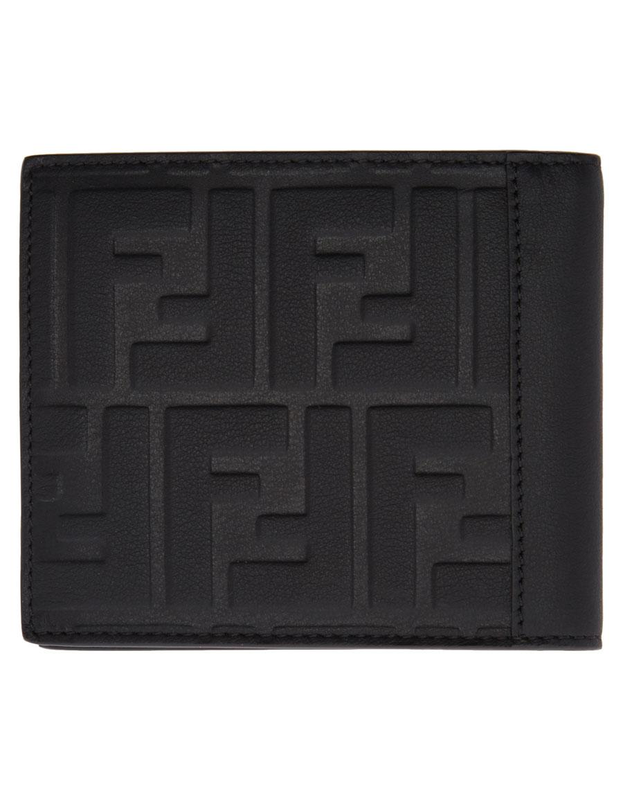 36126cc6bb FENDI Black Logo Bifold Wallet · VERGLE