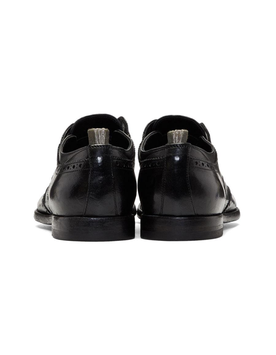 OFFICINE CREATIVE Black Anatomia 3 Loafers